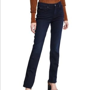 7 For All Mankind Kimmie Straight Leg Jean Size 27
